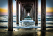 European Master Photography - Cali Pier Sunset
