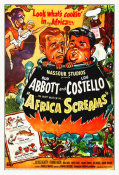 Hollywood Photo Archive - Abbott & Costello - Africa Screams Horizontal