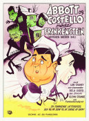 Hollywood Photo Archive - Abbott & Costello - Danish - Meet Frankenstein