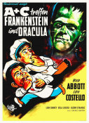 Hollywood Photo Archive - Abbott & Costello - German - Frankenstein And Dracula