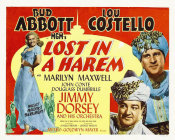 Hollywood Photo Archive - Abbott & Costello - Lost In A Harem