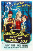 Hollywood Photo Archive - Abbott & Costello - Meet The Invisible Man