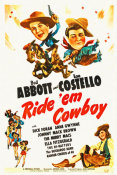 Hollywood Photo Archive - Abbott & Costello - Ride Em Cowboy