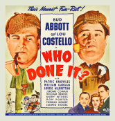 Hollywood Photo Archive - Abbott & Costello - Who Done It