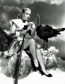 Hollywood Photo Archive - Doris Day with a Thanksgiving Turkey
