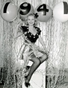 Hollywood Photo Archive - Happy New Year 1941 - Virginia Dale