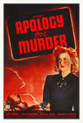 Hollywood Photo Archive - Apology for Murder