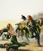 Mort Kunstler - The Untold Story of the Red Army's Female Barracks