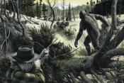 Mort Kunstler - Spotting Big Foot
