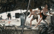 Mort Kunstler - Stopping the Melee