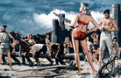Mort Kunstler - Wild Convict Women of Penal Rock Island