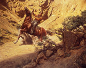 Mort Kunstler - Ambush at Scorpion Valley