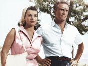Hollywood Photo Archive - Senta Berger with Kirk Douglas
