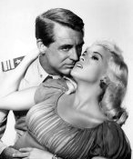 Hollywood Photo Archive - Cary Grant with Jayne Mansfield - Kiss The For Me
