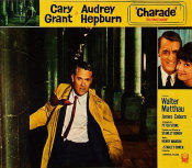 Hollywood Photo Archive - Cary Grant - Charade - Lobby Card