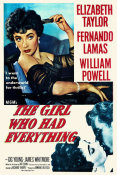 Hollywood Photo Archive - The Girl Who Had Everything - Poster