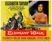 Hollywood Photo Archive - Elephant Walk - Elizabeth Taylor
