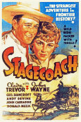 Hollywood Photo Archive - Stage Coach - John Wayne and Claire Trevor