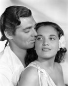 Hollywood Photo Archive - Clark Gable and Movita in Mutiny on the Bounty