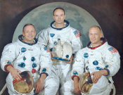 NASA Archive Photo - Apollo 11 Moon Landing Crew