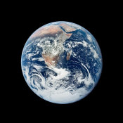 NASA Archive Photo - View of the Earth from Apollo 17