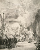 Rembrandt van Rijn - The Death of the Virgin, 1639
