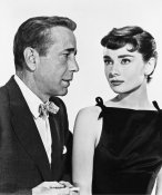 Hollywood Photo Archive - Humphrey Bogart and Audrey Hepburn in Sabrina