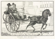 French 19th century etching - Departure of the Replaced 1805