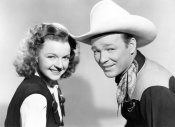Hollywood Photo Archive - Roy Rogers with Dale Evans