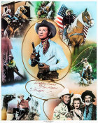 Hollywood Photo Archive - Roy Rogers Collage Poster