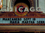 Carol Highsmith - Marquee of the historic Chicago Theater Chicago Illinois