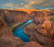 Tim Fitzharris - Colorado River at Horseshoe Bend, Glen Canyon, Arizona
