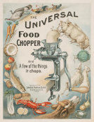 Forbes Lithograph Manufacturing Company - Advertisement - Universal No. 2 Food Chopper, 1899