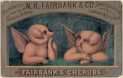 N.K. Fairbank & Co. - Fairbank's cherubs--Presented with the compliments of N.K. Fairbank & Co., lard refiners, Chicago & St. Louis