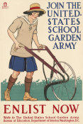 Edward Penfield - WWI Poster - United Stated Garden Army, 1918