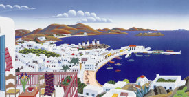 Thomas McKnight - Mykonos Panorama
