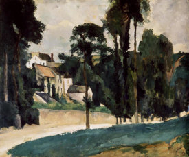 Paul Cezanne - A Way In A Path