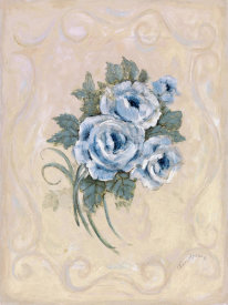 Peggy Abrams - Roses Azure