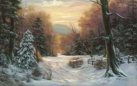 Egidio Antonaccio - Snow Covered Morning