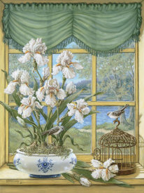 Janet Kruskamp - Irises By The Lake