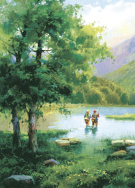 Salvador Caballero - Fishing On Eagle Lake
