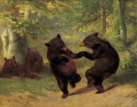 William H. Beard - Dancing Bears