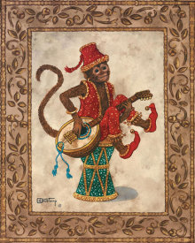 Janet Kruskamp - Monkey With Mandolin