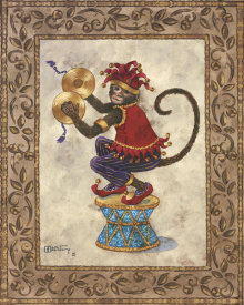 Janet Kruskamp - Monkey With Cymbals