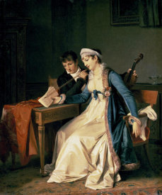 Marguerite Gerard - The Music Lesson
