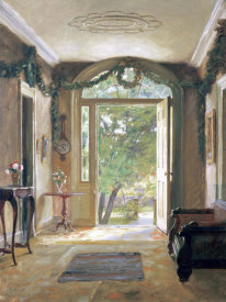 William Verplanck Birney - The Front Hall
