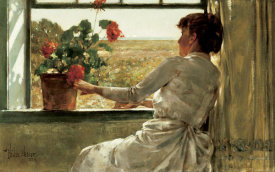 Childe Hassam - Summer Evening