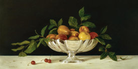 Patrick Farrell - Fruit In An Oval Of Silver