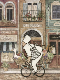 Betty Whiteaker - Chef On Bike