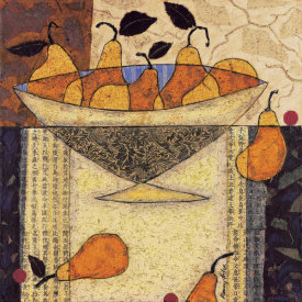 Penny Feder - Asian Pears In Bowl